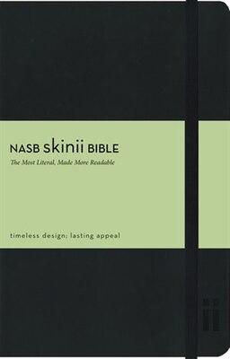 Book NASB, Skinii Bible, Imitation Leather, Black by Zondervan