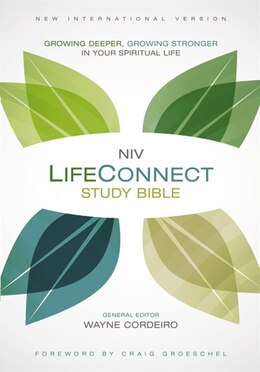 Book NIV, LifeConnect Study Bible, Hardcover, Red Letter Edition: Growing Deeper, Growing Stronger in… by Wayne Cordeiro