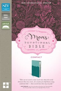 Niv, Mom's Devotional Bible, Compact, Imitation Leather, Turquoise