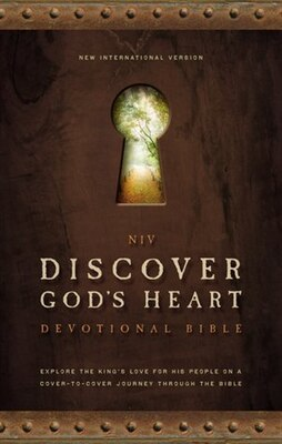 Book NIV, Discover God's Heart Devotional Bible, Hardcover: Explore the King's Love for His People on a… by Walk Thru the Bible