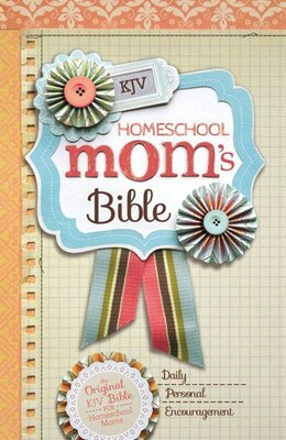 Book KJV, Homeschool Mom's Bible, Hardcover by Zondervan