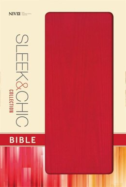 Book Niv, Sleek And Chic Collection Bible, Softcover, Red Fabric, Red Letter Edition by Zondervan
