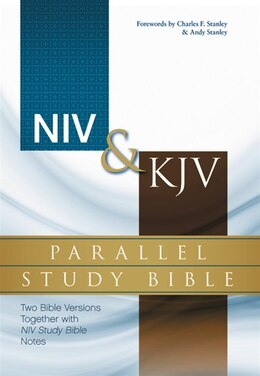 Book NIV, KJV, Parallel Study Bible, Hardcover: Two Bible Versions Together with NIV Study Bible Notes by Zondervan