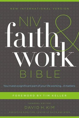 Book NIV, Faith and Work Bible, Hardcover by Christianity Today Intl.