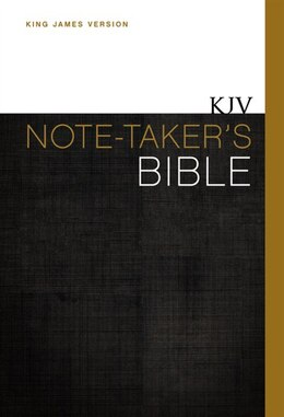 Book Kjv, Note-taker's Bible, Hardcover, Red Letter Edition by Zondervan