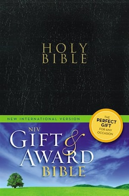 Book Niv, Gift And Award Bible, Paperback, Black, Red Letter Edition by Zondervan