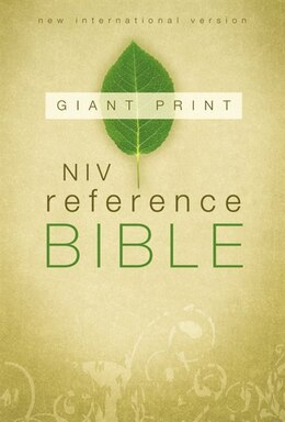 Book NIV, Reference Bible, Giant Print, Paperback by Zondervan