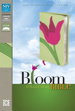 Book Niv, Bloom Collection Bible, Imitation Leather, Pink/green, Red Letter Edition by Zondervan