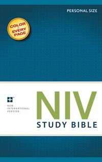 NIV Study Bible, Personal Size, Paperback, Red Letter Edition: Personal Size