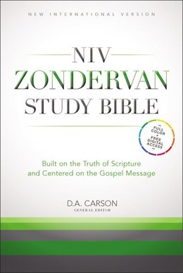 Book NIV Zondervan Study Bible, Hardcover: Built on the Truth of Scripture and Centered on the Gospel… by D. A. Carson
