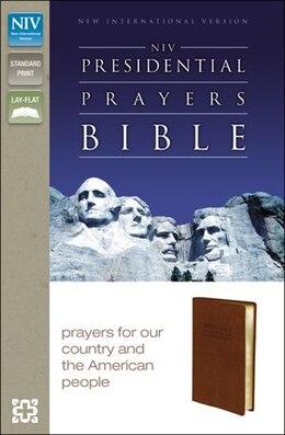 Book Niv, Presidential Prayers Bible, Imitation Leather, Tan by Zondervan