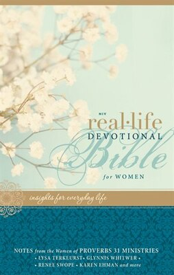 Book NIV, Real-Life Devotional Bible for Women, Hardcover: Insights for Everyday Life by Lysa Terkeurst