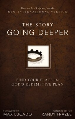 Book NIV, The Story: Going Deeper, Hardcover: Find Your Place in God's Redemptive Plan by Randy Frazee