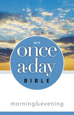 Book NIV, Once-A-Day Morning and Evening Bible, Paperback by Kenneth D. Boa