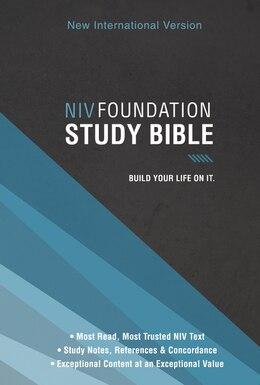 Book NIV, Foundation Study Bible, Hardcover, Red Letter Edition by Zondervan