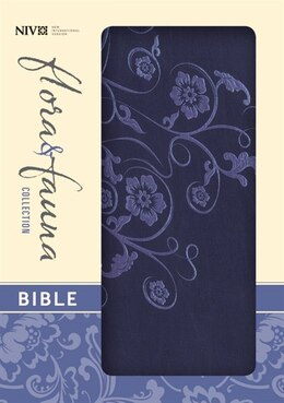 Book NIV Flora and Fauna Collection Bible, Compact: Compact Mar Italian Duo-tone by Zondervan