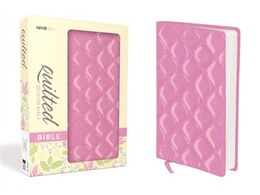 Book Niv, Quilted Collection Bible, Imitation Leather, Pink, Red Letter Edition: Strawberry Cream… by Zondervan