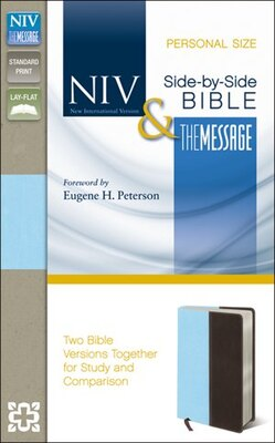 Book NIV and The Message Side-by-Side Bible, Personal Size: Two Bible Versions Together for Study and… by Zondervan