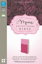 Niv, Mom's Devotional Bible, Imitation Leather, Pink