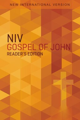 Book Niv, Gospel Of John, Reader's Edition, Paperback by Zondervan