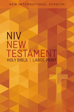 Book Niv, Outreach New Testament, Large Print, Paperback by Zondervan