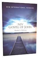 Niv, Pocket Gospel Of John, Reader's Edition, Paperback