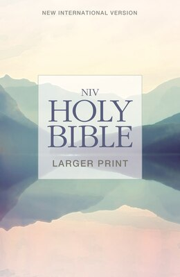 Book Niv, Holy Bible, Larger Print, Paperback by Zondervan