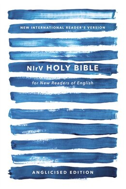 Book Nirv, Holy Bible For New Readers Of English, Anglicised Edition, Paperback, Blue by Zondervan