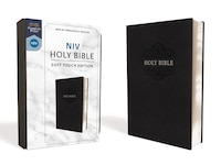 Niv, Holy Bible, Soft Touch Edition, Leathersoft, Black, Comfort Print