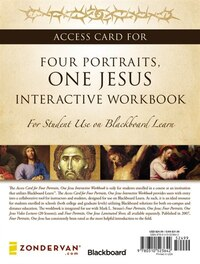 Access Card for Four Portraits, One Jesus Interactive Workbook: For Student Use on  Blackboard Learn