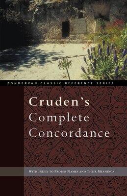 Book Cruden's Complete Concordance by Alexander Cruden