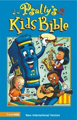 Book NIV, Psalty's Kids Bible, Hardcover by Ernie and Debby Rettino