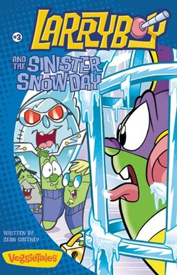 Book Larryboy And The Sinister Snow Day by Sean Gaffney