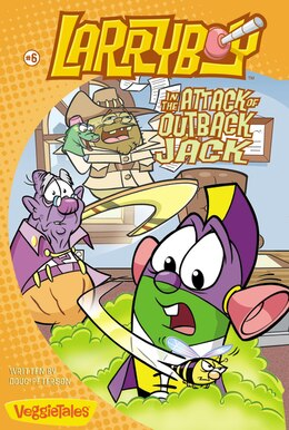 Book LarryBoy In The Attack Of Outback Jack: Book 6 by Doug Peterson