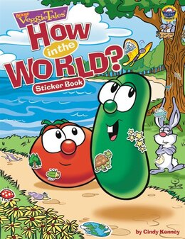 Book How In The World?: Sticker Book by Cindy Kenney