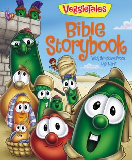 Book Veggietales Bible Storybook: With Scripture from the NIrV by Cindy Kenney