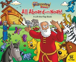 Book The Beginner's Bible All Aboard with Noah!: A Lift-the-Flap Book by Zondervan