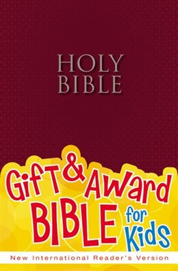Book NIrV, Gift and Award Bible, Paperback, Burgundy by Zondervan