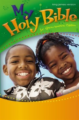 Book KJV, My Holy Bible for African-American Children, Hardcover by Cheryl and Wade Hudson