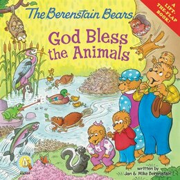 Book The Berenstain Bears: God Bless the Animals: A Lift-the-Flap Book by Jan & Mike Berenstain