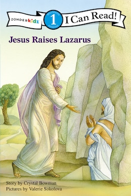Book Jesus Raises Lazarus by Crystal Bowman