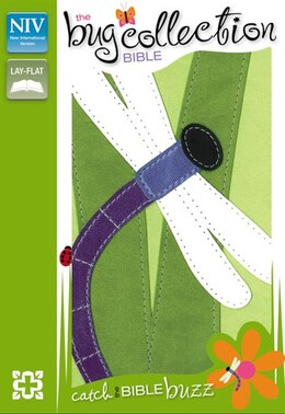Book NIV, The Bug Collection Bible: Dragonfly, Imitation Leather, Green/Multicolor by Zondervan
