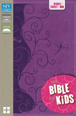 Book NIV, Bible for Kids, Imitation Leather, Purple, Red Letter: Red Letter Edition by Zondervan