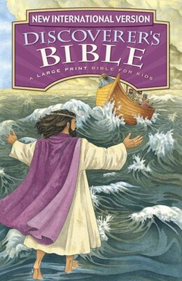 Book NIV, Discoverer's Bible: Revised Edition, Large Print, Hardcover by Zondervan