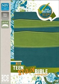 Book NIV, Teen Study Bible, Compact, Imitation Leather, Blue/Green by Zondervan