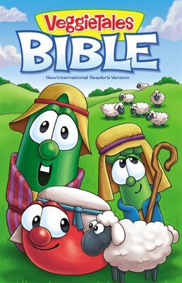 Book NIrV, The VeggieTales Bible, Hardcover by Zondervan