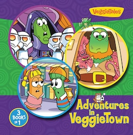 Book Adventures in VeggieTown by Zondervan