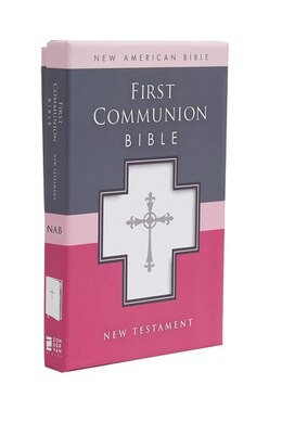 Book NAB, First Communion Bible: New Testament, Imitation Leather, White: NAB New Testament by Zondervan