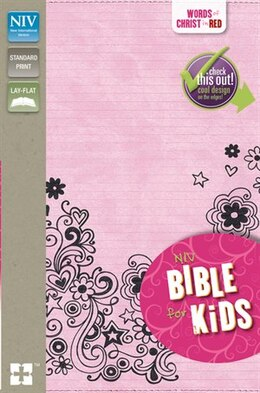 Book NIV, Bible for Kids, Imitation Leather, Pink, Red Letter: Red-Letter Edition by Zondervan