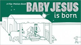 Book Baby Jesus is Born by Zonderkidz